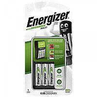 Зарядное устройство + 4 аккумуляторa Energizer Accu Recharge AA Maxi 2000 mAh