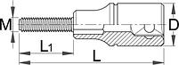 Приспособление для снятия тормозного барабана - 2029/2 UNIOR, фото 2