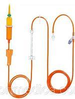 Линия Инфузомат Спейс, 250 см, светозащитная (оранжевая) 8700127SP