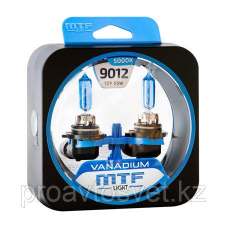Галогенные автолампы MTF Light серия HIR2 (9012) Vanadium