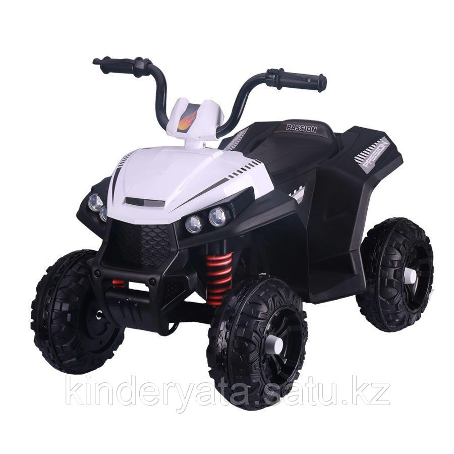 PITUSO Электроквадроцикл 6V/4.5Ah*2,40W*2,колеса EVA,MP3.,кож.сид.,амортиз.,86*56*66 см,Бе