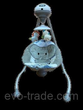 98202 Качели-колыбель Fitch baby Слоник (серый)