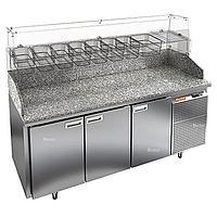 Стол холодильный для пиццы Hicold PZ3-111/GN (8xGN1/6) камень