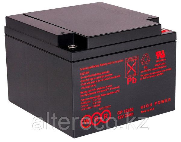 Аккумулятор WBR GP12260 (12В, 26Ач), фото 2