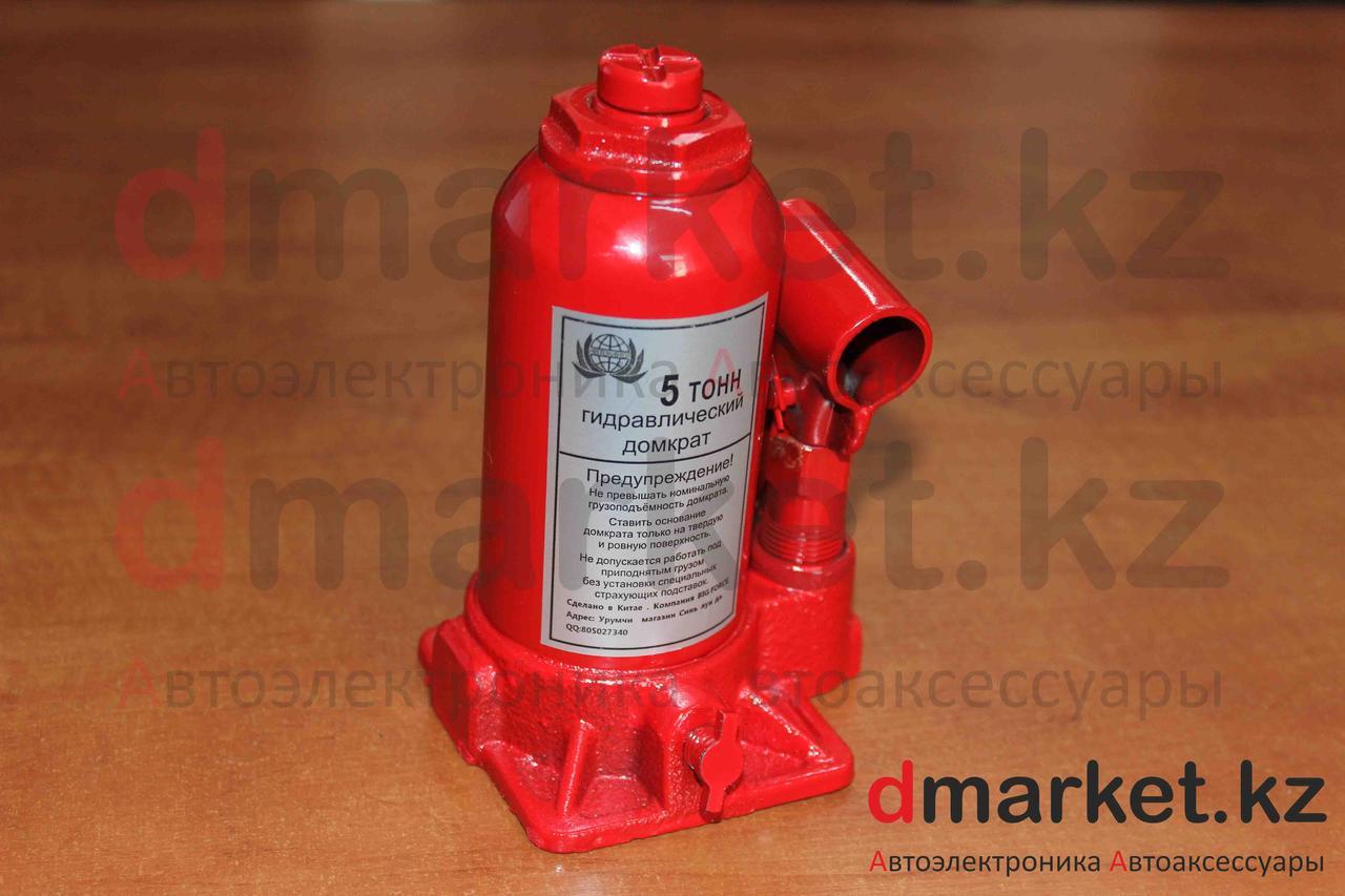 Домкрат гидравлический бутылочный 5 тонн, 155 мм - 320 мм