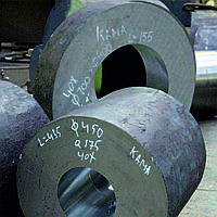 Поковка-кольцо стальная 690х470х480 мм 5ХНМ ГОСТ 8479-70