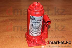 Домкрат гидравлический бутылочный 10 тонн, 180 мм - 360 мм