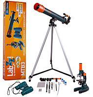 Набор Levenhuk LabZZ MTВ3: микроскоп, телескоп и бинокль Артикул: 27507