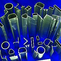 Профиль алюминиевый F-образный декоративный