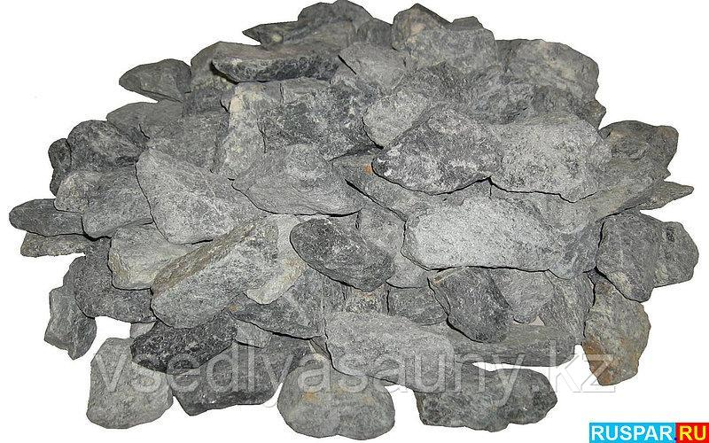 Камни для сауны Габбро -диабаз. 20кг. Огненный камень.