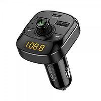 Автомобильное зарядное устройство USB-C+USB-A