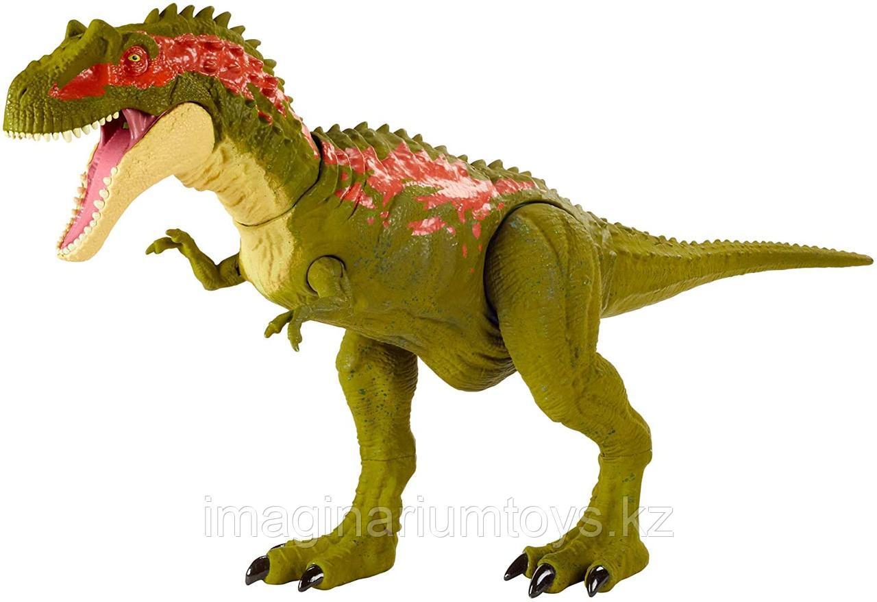 Динозавр Альбертозавр подвижный оригинал Jurassic World