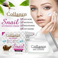 Крем для лица многофункциональный с экстрактом черной улитки Black Snail All In One Cream, фото 1