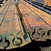 Рельс узкоколейный Р-18 ГОСТ 6368-82 9 м
