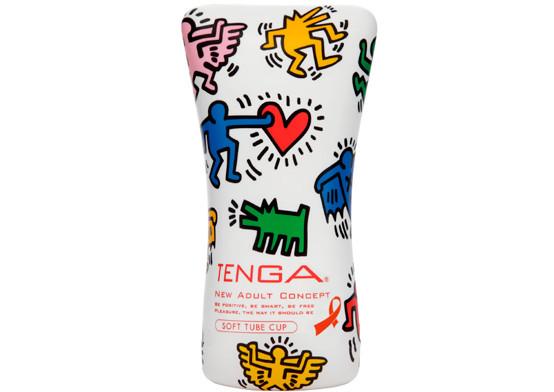 Мастурбатор Soft Tube от TENGA&Keith Haring