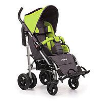 Коляска для детей с ДЦП UMBRELLA размер 2, пневмо колёса, складная,16,3 кг, нагрузка до 50 кг