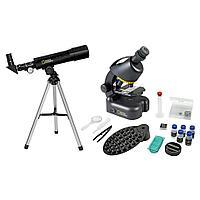 Набор Bresser National Geographic: телескоп 50/360 AZ и микроскоп 40 640x Артикул: 52872