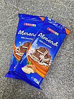 Плитка Шоколада молочный c миндалем 100гр