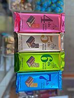Плитка Шоколада в ассортименте с начинкой (клубника, капучино, карамель, арахисовая паста)  100гр