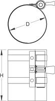 Приспособление для обжима поршневых колец - 2205 UNIOR, фото 2