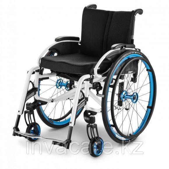 Кресло-коляска механическая активная SMART S, складная, облегчённая алюминиевая рама