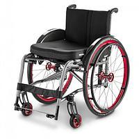 Кресло-коляска механическая активная SMART F, складная, облегчённая алюминиевая рама