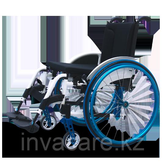 Кресло-коляска механическая активная AVANTI, складная, облегчённая алюминиевая рама