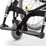 Кресло-коляска механическая EUROCHAIR2 складная, вес коляски 17,5 кг, нагрузка до 130 кг, фото 2