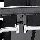 Кресло-коляска механическая EUROCHAIR2 складная, вес коляски 17,5 кг, нагрузка до 130 кг, фото 3