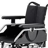 Кресло-коляска механическая EUROCHAIR2 складная, вес коляски 17,5 кг, нагрузка до 130 кг, фото 4