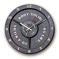 Часы Body-Solid в виде тяжелоатлетического диска STT45