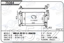 Радиатор охлаждения TOYOTA COROLLA E120 00-07 1.6/1.8л