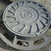 Люк чугунный канализационный с 2-й крышкой 670х780х90 СЧ-20