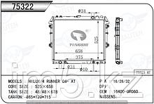 Радиатор охлаждения TOYOTA HILUX AN10 AN20 AN30 04-15