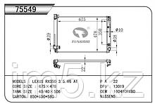 Радиатор охлаждения LEXUS RX XU30 03-06 3.5л