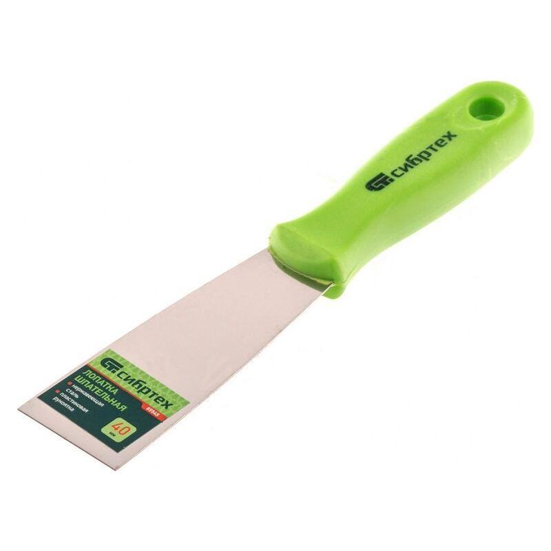 Шпательная лопатка из нержавеющей стали, 80 мШпательная лопатка из нержавеющей стали, 40 мм, пл, 2-комп. ручка