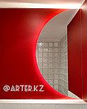 Зеркало полукруглое с парящей подсветкой, 1600(В)х800(Ш)мм, фото 2