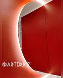 Зеркало полукруглое с парящей подсветкой, 1600(В)х800(Ш)мм, фото 3