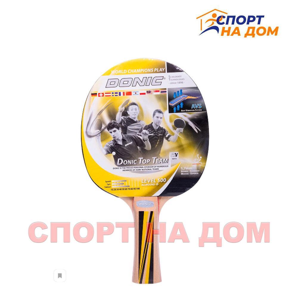 Ракетка для настольного тенниса Donic Schildkrot 500 Level