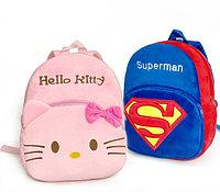 Плюшевый детский рюкзак