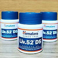 ЛИВ.52 Двойная Сила (Liv.52 DS, Himalaya) - аюрведический тоник для восстановления функций печени, 60 таб