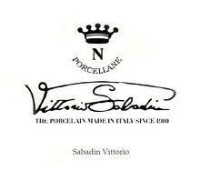 Изделия из фарфора. Компания Vittorio Sabadin. Италия