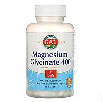 KAL, Глицинат магния 400, 400 мг, 180 таблеток