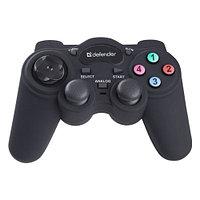 Геймпад Defender GAME RACER TURBO RS3 12 кн., + 2 джойстика, USB 2.0-3.0-PS Gameport.