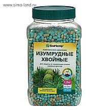 """Удобрение комплексное минеральное БиоМастер """"Изумрудные хвойные"""", 1.2кг."""