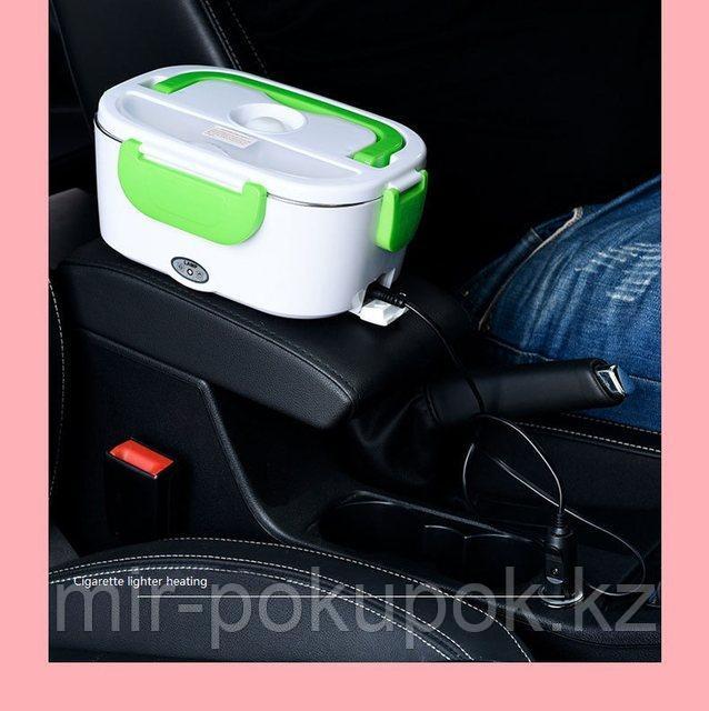 Автомобильный ланчбокс с подогревом 12В (работает только от прикуривателя)