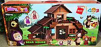 5212 Конструктор Bear House  Маша и Медведь Дом 113 дет 59*28, фото 1