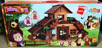 5212 Конструктор Bear House  Маша и Медведь Дом 113 дет 59*28