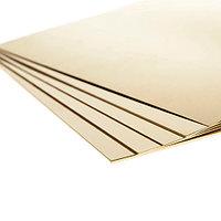 Лист латунный Л63п/т 0,6х600х1500