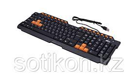 Клавиатура игровая Ritmix RKB-151 черный